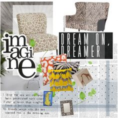 Animal Prints have made their way into some great home decor products. www.gypsysgewells.com