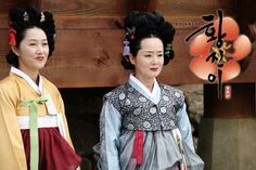 Hwang Jini (Hangul: 황진이; hanja: 黃眞伊) is a Korean drama broadcast on KBS2 in 2006. The series was based on the tumultuous life of Hwang Jini, who lived in 16th-century Joseon and became the most famous gisaeng in Korean history. Lead actress Ha Ji-won won the Grand Prize (Daesang) at the 2006 KBS Drama Awards for her performance. 기생 금춘 정경순과 임백무 김영애