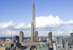 Rascacielos de madera para Londres. La oficina de PLP Architecture, en colaboración con la Universidad de Cambridge, ha propuesto un rascacielos de madera que sería el más alto en su categoría. Esta torre se construiría en el centro de Londres, tendría un uso mixto, contaría con unos 1.000 apartamentos, y tendría todos los beneficios y ventajas de una construcción de madera certificada.  #Actualidad, #Arquitectura, #Sostenibilidad
