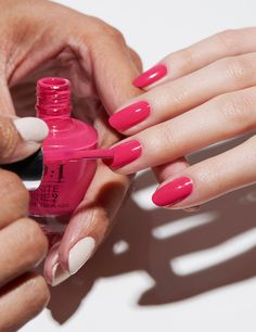 Try the OPI Infinite Shine 3-step system for a gel-like manicure without the light. Shade shown: This Isn't Whine Country.