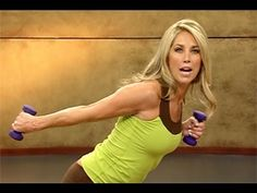Upper Body Sculpt Workout with Denise Austin - YouTube