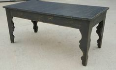 Check out this item in my Etsy shop https://www.etsy.com/listing/285466941/shabby-chic-farmhouse-style-coffee-table