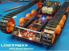 Logitraxx - Xilinx FPGA Powered Tracked Robot by Shane Lewis — Kickstarter