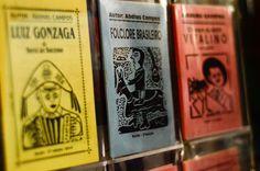 Cordel's literature, Pernambuco, Brazil.