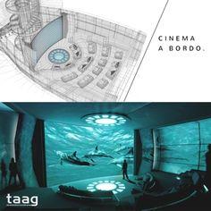 Inspiração para o fim de semana: maior iate de luxo do mundo conta com cinema IMAX: http://www.forbesbrasil.co/lifestyle/novidade-yacht-de-luxo-com-cinema-imax/