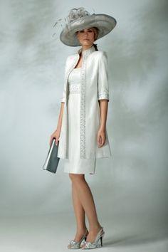 column / sheath strapless knee-length taffeta mother bride dress