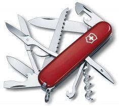 Victorinox Huntsman rosso Originale Made in Swiss 0285 coltelli multiuso svizzer Victorinox Knives, Victorinox Swiss Army Knife, Swiss Army Pocket Knife, Best Pocket Knife, Pocket Knives, Outdoor Gadgets, Knives And Tools, Survival Knife, Stuff To Buy