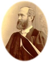 REV. GEORGE MUNRO GRANT -Principal of Queen's College, Kingston Ontario 1877-1902.. Born in Nova Scotia 1835, he was educated at the University of Glasgow  & ordained by the Church of Scotland.. Under his leadership Queen's grew to be known world-wide.