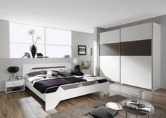 Schlafzimmer Mit Bett 180 X 200 Cm Alpinweiss/ Lavagrau Jetzt Bestellen  Unter: Https://moebel.ladendirekt.de/schlafzimmer/komplett Schlafzimmer/?uidu003d  ...