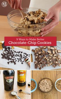 It's hard to beat a classic chocolate chipper, but mixing in a few unexpected ingredients adds a surprising twist to your old standby. Here are nine of our favorites!