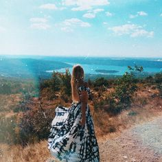 Merelgebe on Instagram | summer - summervibes - travel - dress - hair - Girl - bohemian - france - Gorges du Verdon - happy - Happiness - inspiration - view - vacation #merelgebe @merelgebe