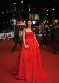 Fabulously Spotted: Zhang Yuqi Wearing Alexander McQueen - 'Soshite Chichi Ni Naru' 2013 Cannes Film Festival Premiere - http://www.becauseiamfabulous.com/2013/05/zhang-yuqi-wearing-alexander-mcqueen-soshite-chichi-ni-naru-2013-cannes-film-festival-premiere/