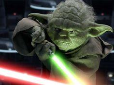 Luke Skywalker werd getraind door Yoda, de wijste Jedi ooit. Hij overleed in de laatste Star Wars film. De Jedi zijn trouwens de 'good guys': een mix van magische ridders, religieuze leiders, monniken en filosofen.