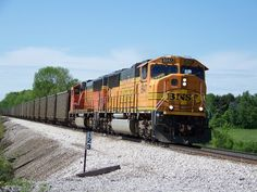 A loaded Coal Car weighs about 100 tons.  An average Coal Train is about 100 cars long.  Trains facinate our family.  We look forward to a train vacation one day!