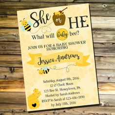 t h e d e t a i l s. -Personalized text -5x7 JPEG files at 300dpi resolution for high quality -THESE WILL NOT BE SHIPPED TO YOU. THIS IS FOR THE DIGITAL FILE ONLY.  o r d e r i n g. 1. Click add to cart. 3. In the notes to seller section, include all the details I need. (Mom or Parents to Be, party location, party date and time, RSVP information, Registry Information, anything else you want on it.) 4. Submit payment. After your order is submitted and your payment clears, you will receive…