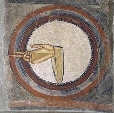 Mano de Dios de Sant Climent de Taüll | Museu Nacional d'Art de Catalunya