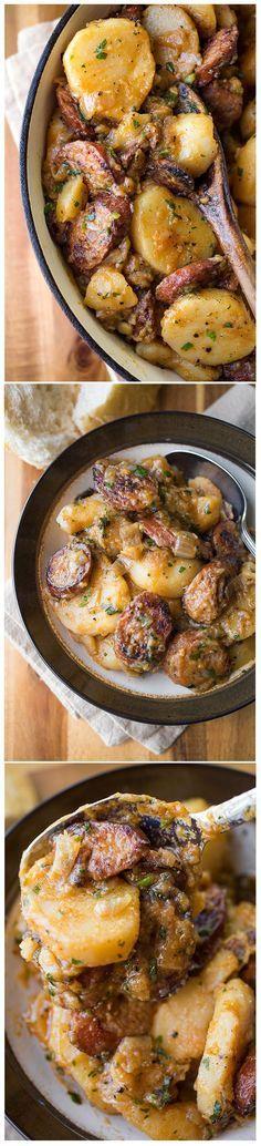 Saucy Hungarian Red Potato Goulash