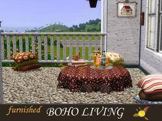 evi's Sims 3 Downloads Sims 3, Boho, Bohemian