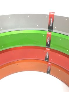 colorful 100mm fat bike rims