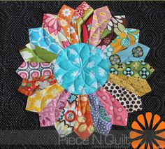 love this machine quilting on this one! @ Piece N Quilt #quilt #machinequilting