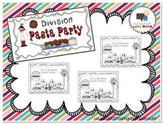 Classroom Freebies: Division Pasta Party Fun!
