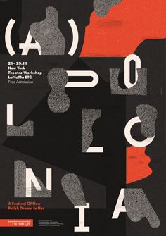 "garadinervi: ""Aleksandra Niepsuj Poster (also on typo/graphic posters) """
