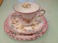Vintage Royal Albert Crown China Cup Saucer Side Plate Trio | eBay