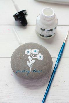 Painted+stones+♥+Piedras+pintadas
