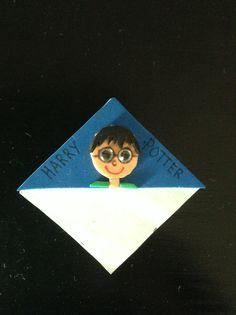Hjemmelavet Harry Potter bogmærke
