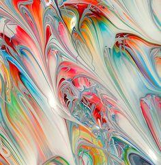 Manipulated Ink Patterns – Mark Lovejoy | via Veronica Galbraith