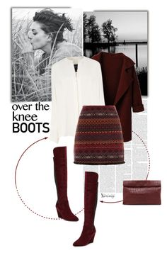 """""""Over-The-Knee Boots"""" by naomimjc ❤ liked on Polyvore featuring Derek Lam, Charles by Charles David and Marie Turnor"""