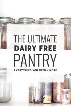 The Ultimate Dairy Free Pantry Guide – Simply Whisked More from my siteOur Favorite Dairy Free SubstitutionsDairy Free Snacks – Leah With LoveThe Best Gluten Free & Dairy Free Products at Costco Dairy Free Food List, Dairy Free Snacks, Lactose Free Diet, Lactose Free Recipes, Gluten Free Donuts, Vegan Recipes, Dairy Free Alternatives, Dairy Free Options, Nom Nom Paleo