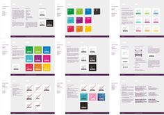 Cerebral Art, advertising agency, branding manual design by Alex Tass Corporate Identity, Identity Design, Visual Identity, Logo Design, Brand Identity, Design Package, Brand Manual, Celebration Quotes, Brand Guidelines