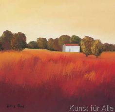 Hans Paus - Scarlet Landscape II