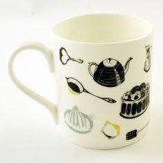 Kitchenalia mug by Emily Maude