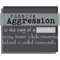 dating a passive aggressive narcissist Love, sex and passive aggressive behavior 217 likes an open discussion about relationships and passive aggression.