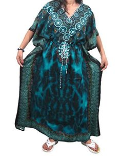 Mogul Womans Caftan Blue Moroccan Maxi Kaftans Dress Muumuu Mogul Interior http://www.amazon.com/dp/B012CIJ25Q/ref=cm_sw_r_pi_dp_dsO0vb0S1M76A