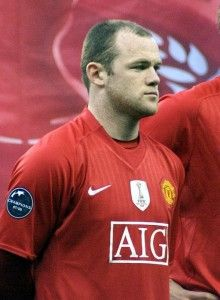 Wayne Rooney joined Everton's youth team in his early years, and then made his professional start from Everton in 2002. He is currently one of the most famous soccer players out there!