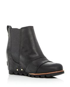 Sorel Women s Lea Wedge Leather Booties Shoes - Bloomingdale s 902ba9d198