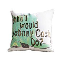 It's an interesting question, and now you have time to ponder the answer. How would the granddaddy of country music handle [insert dilemma here]? This Bootstrap Throw Pillow is a must-have for fans of ...  Find the Bootstrap Throw Pillow, as seen in the Modern Outlaw Collection at http://dotandbo.com/collections/modern-outlaw?utm_source=pinterest&utm_medium=organic&db_sku=108495