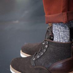 http://chicerman.com  landerurquijo:  Roll up your pants and show the Lander Urquijo Suede&Herringbone Boots / Remanga tus pantalones para enseñar las botas de ante y espiga de la colección Lander Urquijo  #menshoes