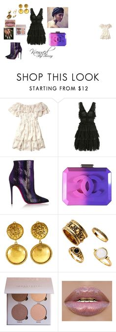 """""""Danity Doll"""" by arkiamiller on Polyvore featuring Hollister Co., Alexander McQueen, Christian Louboutin and Chanel"""