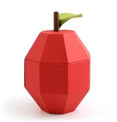 3D Apple Gift Box Tutorial