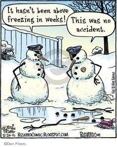 Bizarro snowman cartoons are the best! Funny Xmas, Haha Funny, Funny Jokes, Hilarious, Funny Stuff, Funny Sayings, Christmas Jokes, Christmas Cartoons, Christmas Fun