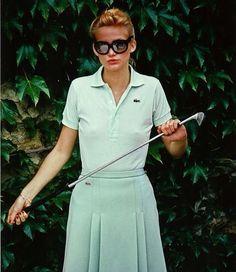 Classic style worn with attitude #letoilesport #playallday #golfaddict