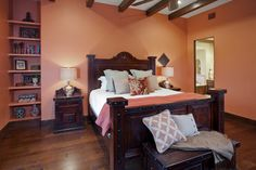 It Is Sherwin Williams 6340 Baked Clay. We Suggest Doing A 24x24 Or Larger  Sample · Malerei SchlafzimmerRustikale ...