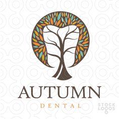 Autumn Tooth Dental Tree