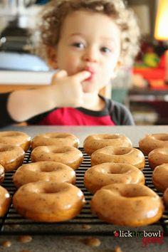  Perfectly Pumpkin Donuts - Thanksgiving Breakfast  