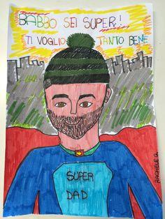 Un #supereroe con l'#hitahat in testa!:) Rachele fa gli auguri a papà Giuseppe #contest #ioeilmiopapà #festadelpapà  ********* A #superhero with the Hita Hat on!:) Rachele wish happy #Italianfathersday to her daddy Giuseppe! #hitahat #contest #meandmydaddy