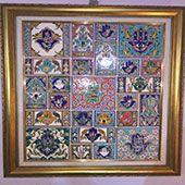 Decorative Ceramic Tiles: Hand Painted Mosaic -Algeria